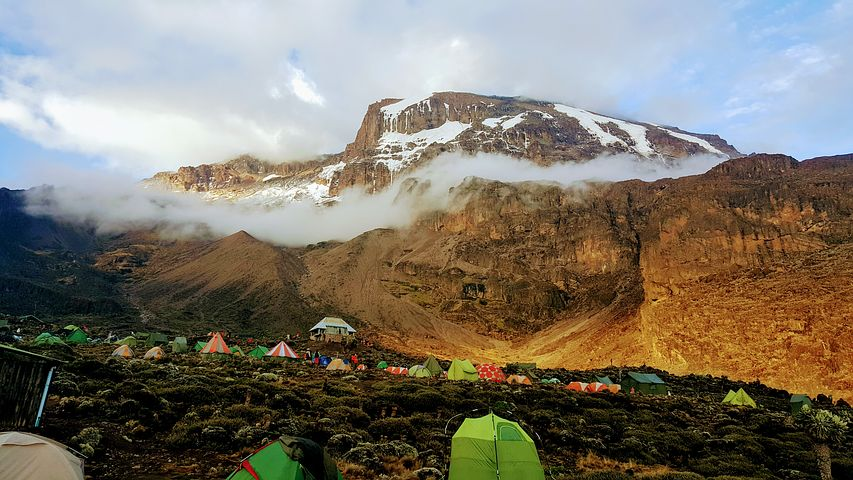 Mountain Kilimanjaro  Climbing Routes